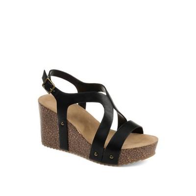 ジュルネ コレクション レディース サンダル シューズ Geneva Wedge Sandals