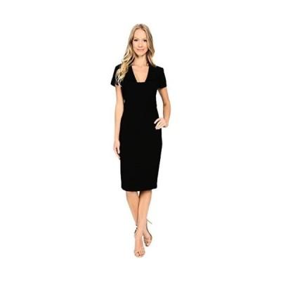 バッジェリーミシュカ ドレス Badgley Mischka レディース スクエア Neck Sheath ドレス Black