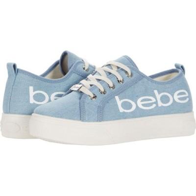 ベベ Bebe レディース スニーカー シューズ・靴 Destini Light Blue Denim