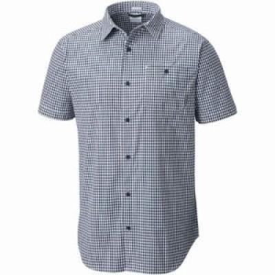 コロンビア 半袖シャツ Boulder Ridge Short Sleeve Shirts Collegiate Navy Gingham