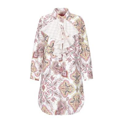 FEMME by MICHELE ROSSI ミニワンピース&ドレス アイボリー 38 コットン 100% ミニワンピース&ドレス