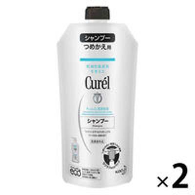 花王Curel(キュレル) シャンプー つめかえ用 340mL 2個 花王 敏感肌