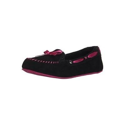 アスレチック スケッチャーズ BOBS from Skechers 33875 レディース Cozy Jr. Sherpa Slipper. Black/pink