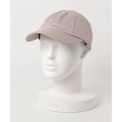 帽子 キャップ SATIN 8 CAP サテン生地無地カーブキャップ