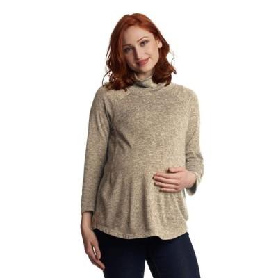 エヴァリーグレー レディース ニット・セーター アウター Teresa Maternity/Nursing Sweater