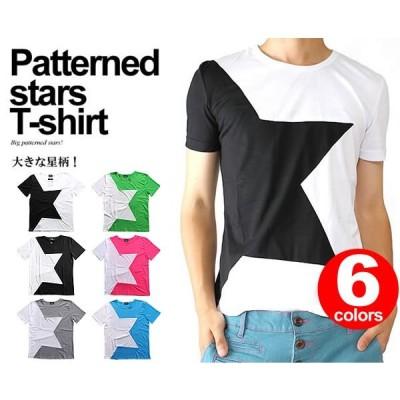 星柄Tシャツ  C049