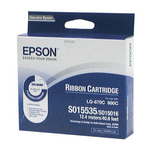 【史代新文具】愛普生EPSON S015535 LQ-680 / 670 原廠色帶