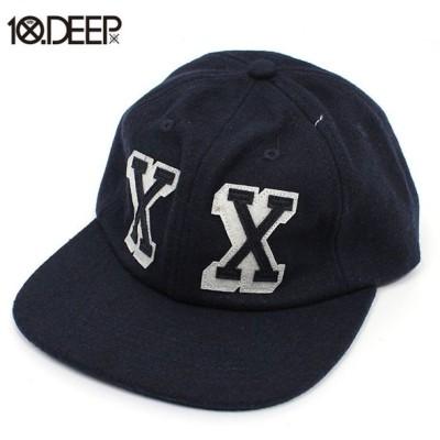 10DEEP / DOUBLE X UNCONSTRUCTED HAT / 10ディープ スナップバック キャップ