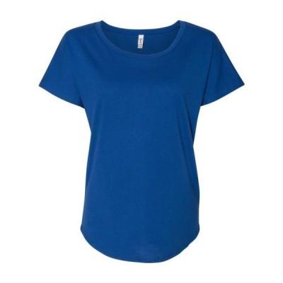 レディース 衣類 トップス Women's Ideal Dolman Next Level Tシャツ