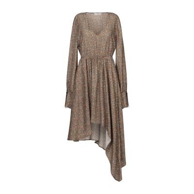 マウロ グリフォーニ MAURO GRIFONI ミニワンピース&ドレス カーキ 40 シルク 100% ミニワンピース&ドレス