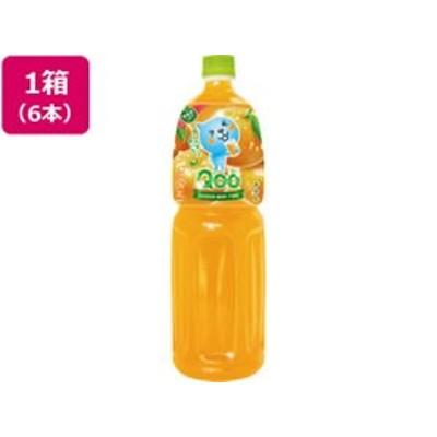 コカ・コーラ/ミニッツメイド Qoo みかん 1.5L×6本