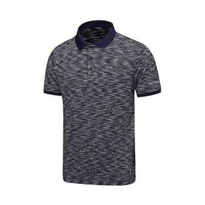 Dasawamedh Men's Quick Dry Stretch Golf Shirt Short Sleeve Moisture Wicking