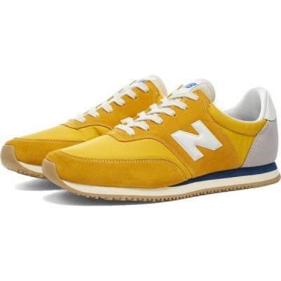 ニューバランス New Balance メンズ スニーカー シューズ・靴 MLC100BQ Yellow