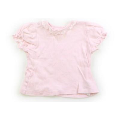 メゾピアノ mezzopiano Tシャツ・カットソー 80サイズ 女の子 子供服 ベビー服 キッズ