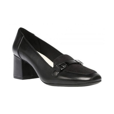 Anne Klein アン クライン レディース 女性用 シューズ 靴 ローファー ボートシューズ Evera Pump - Black Leather