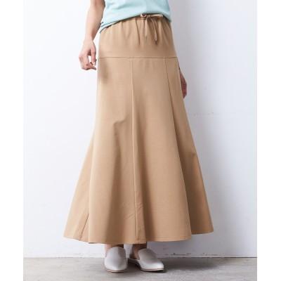 【大きいサイズ】 シックスタイル カットソーフレアスカート スカート, plus size skirts