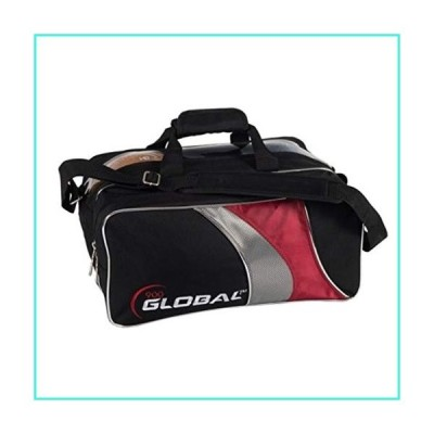 【新品】900 Global 2-Ball Travel Tote (Black/Red/Silver)(並行輸入品)