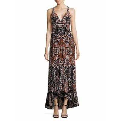 レアジョン レディース ワンピース Rosina Maxi Silk Dress
