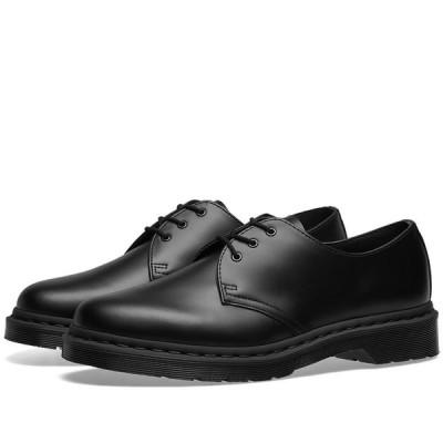 ドクターマーチン Dr Martens メンズ シューズ・靴 dr. martens 1461 3-eye shoe Black Mono