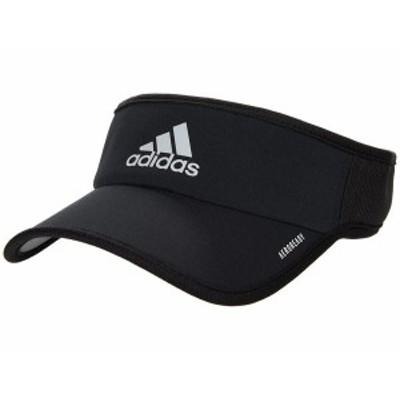 アディダス メンズ 帽子 アクセサリー Superlite Performance Visor Black/White
