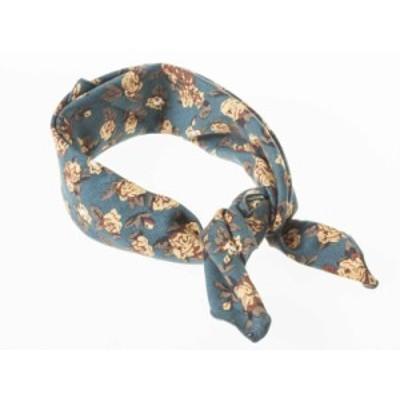 男女兼用 ファッション スーツ カジュアル ビジネス スカーフ 正方形 60*60cm#花柄A【新品/送料込み】