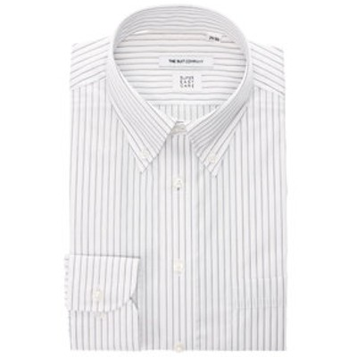 【SUPER EASY CARE・再生繊維】ボタンダウンカラードレスシャツ 〔EC・FIT〕