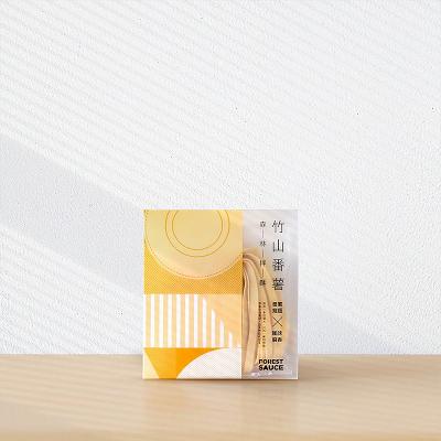【森林麵食】竹山番薯乾麵/風味麻香醬 (四包入)