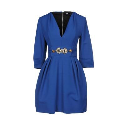 NORA BARTH ミニワンピース&ドレス ブルー 44 34% レーヨン 34% ポリエステル 24% ウール 8% ポリウレタン ミニワンピー