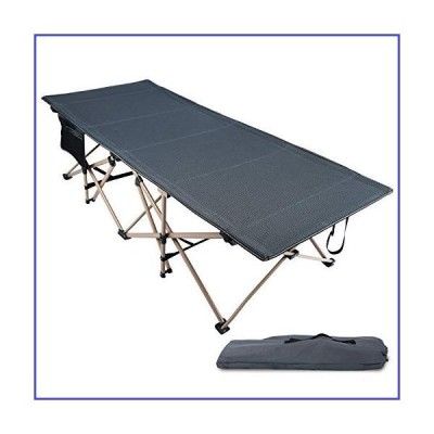 REDCAMP Oversized Folding Camping Cots for Adults 500lbs, Double Layer Oxford Strong Heavy Duty Extra Wide & Large Sleeping Cots for Camp Of