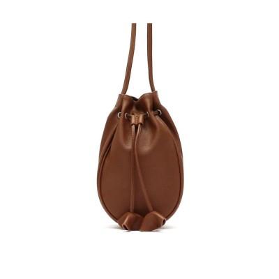 【ギャレリア】 ミネトンカ バッグ MINNETONKA ショルダーバッグ 斜めがけ 大人 小さめ Drawstring BAG 巾着 14577900 ユニセックス ブラウン F GALLERIA