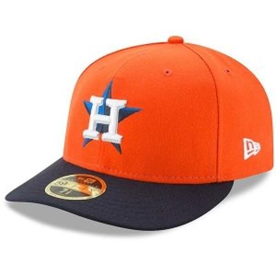 ニューエラ メンズ 帽子 アクセサリー Houston Astros New Era Alternate 2 Authentic Collection On-Field Low Profile 59FIFTY Fitted