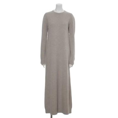 [BED&BREAKFAST]Silk Nep Wool ニットドレス (IVORY)