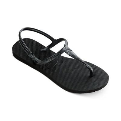 ハワイアナス サンダル シューズ レディース Women's Twist Sandal Black