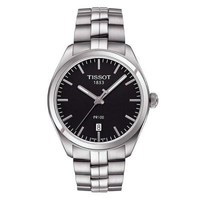 ティソット メンズ 腕時計 アクセサリー PR 100 Analog & Date Bracelet Watch