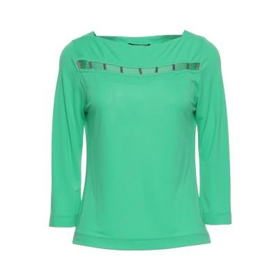 CLIPS T シャツ グリーン XS レーヨン 72% / ポリエステル 28% T シャツ