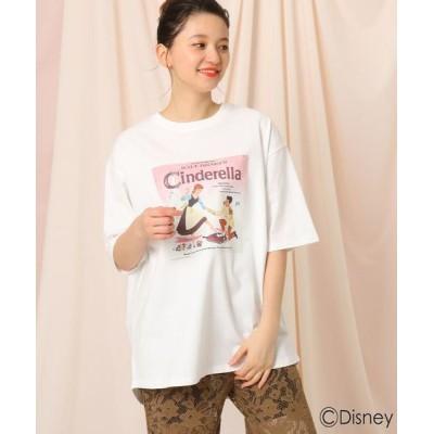 Couture Brooch/クチュールブローチ 【限定商品】「シンデレラ」/プリントTシャツ オフホワイト(003) 38(M)