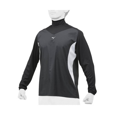 (MIZUNO/ミズノ)ミズノ/メンズ/トレーニングジャケット/メンズ ブラック×ホワイト