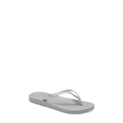 イパネマ サンダル シューズ レディース 'Ana' Flip Flop Grey/ Silver