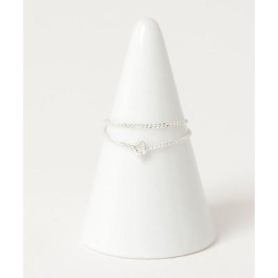 指輪 BEAMS BOY / SILVER925 Wリング