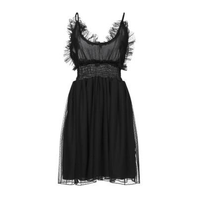MARIUCCIA ミニワンピース&ドレス ブラック M ポリエステル 100% ミニワンピース&ドレス