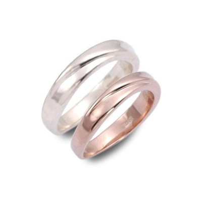 ペアリング シルバー 2本セット ブランド 安い カップル 結婚指輪 シンプル