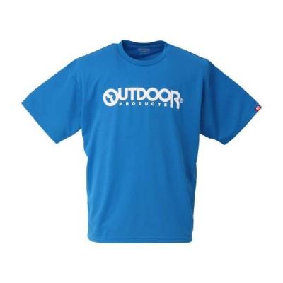 DRYメッシュ半袖Tシャツ 大きいサイズ メンズ OUTDOOR PRODUCTS  ブルー