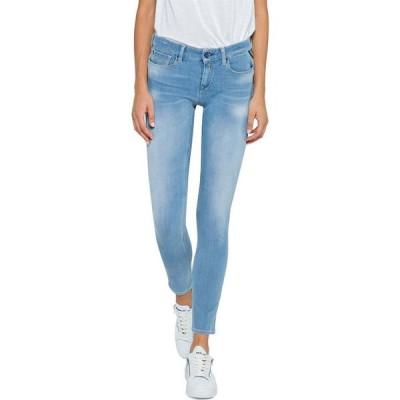 リプレイ Replay レディース ジーンズ・デニム スキニー ボトムス・パンツ Skinny Fit Luz Hyperflex+ Jeans Light Blue
