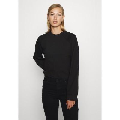 モンキ パーカー・スウェットシャツ レディース アウター ESTRID - Sweatshirt - black