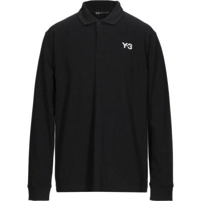 ワイスリー Y-3 メンズ ポロシャツ トップス Polo Shirt Black
