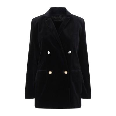 MOTHER OF PEARL テーラードジャケット ブラック 6 コットン 100% テーラードジャケット