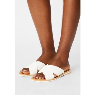 マルコポーロ レディース 靴 シューズ GENNY - Mules - white