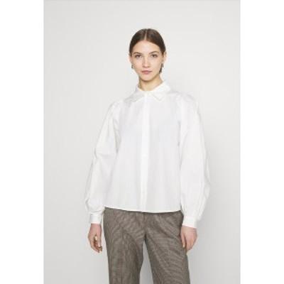ヤス レディース シャツ トップス YASBIANCA - Button-down blouse - bright white bright white