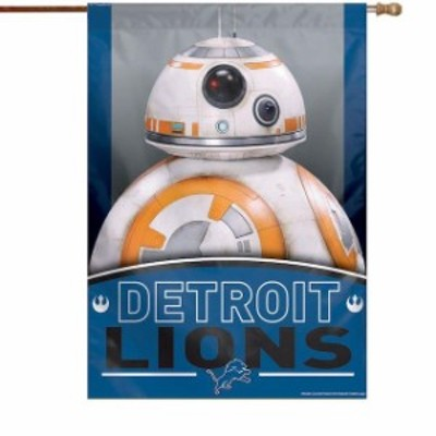 WinCraft ウィンクラフト スポーツ用品  WinCraft Detroit Lions 28 x 40 Star Wars Single-Sided House Banner