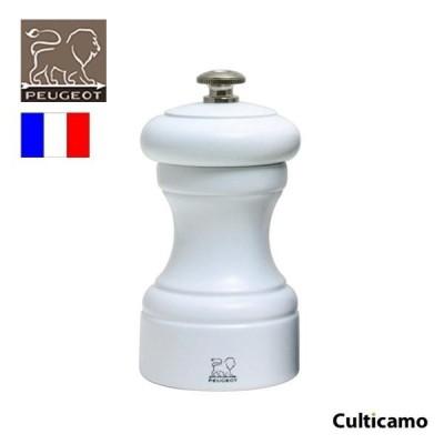 プジョー ビストロ ペパーミル 24215 ホワイト 10cm PPJ-09